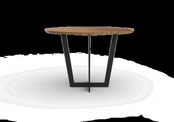 Stół okrągły kuchenny drewniany