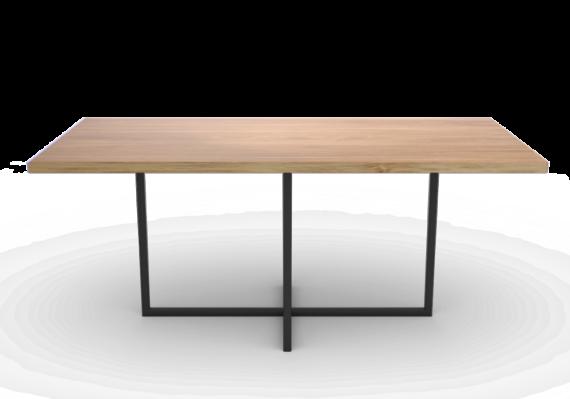 Stół z drewnianym blatem na zamówienie
