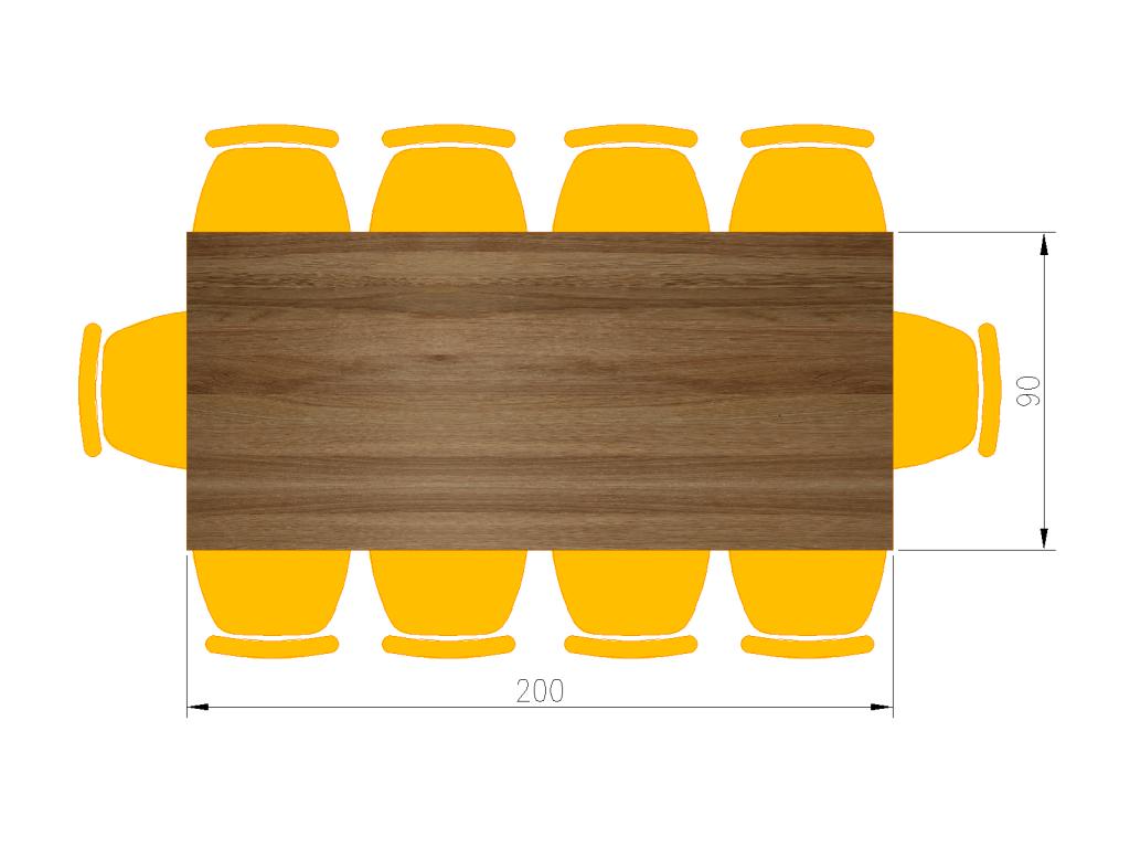 jaki rozmiar stołu do jadalni