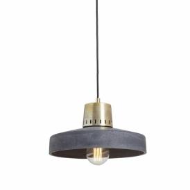 wisząca lampa betonowa