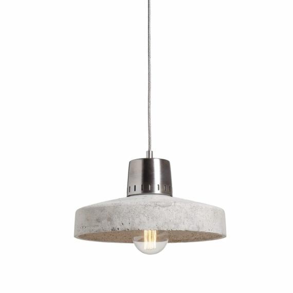 wisząca lampa betonowa natural