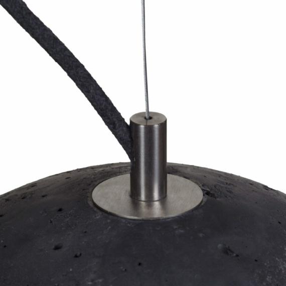 lampa betonowa sfera m
