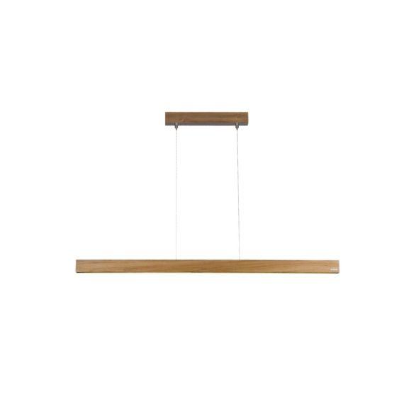 lampa z drewna tekowego