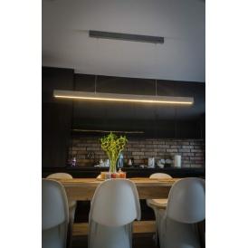 lampa betonowa nad stół