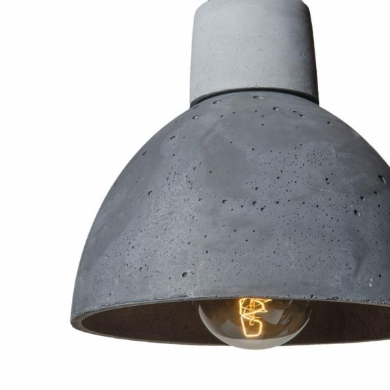 lampa z betonu korta concrete loftlight