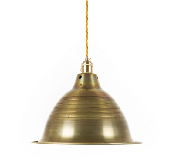 lampa z mosiądzu
