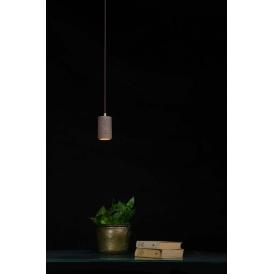 betonowa lampa w stylu industrialnym