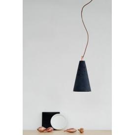betonowa lampa wisząca Kobe 2 czarna