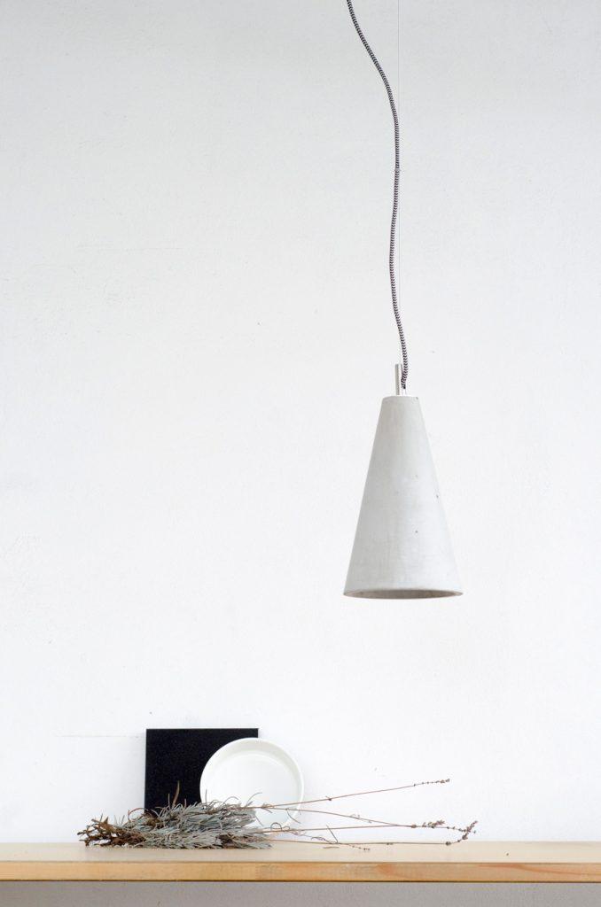betonowa lampa wisząca Kobe 2 Loftlight
