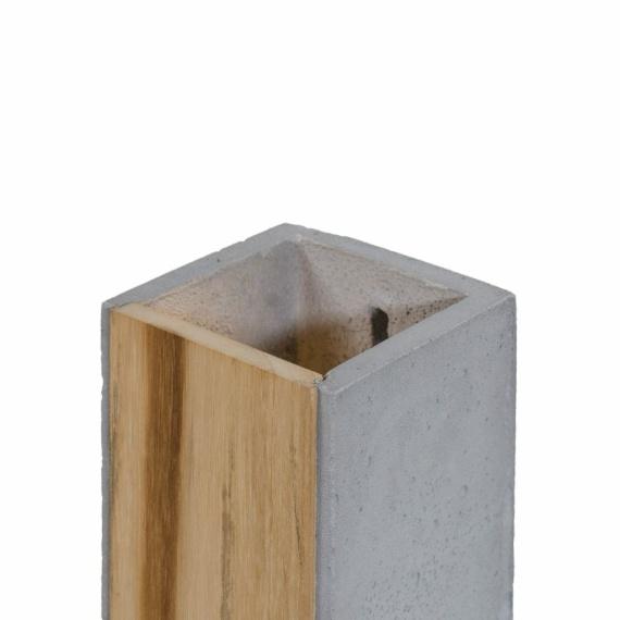 Kinkiet betonowy Orto Teak