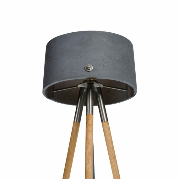 betonowa lampa podłogowa talma