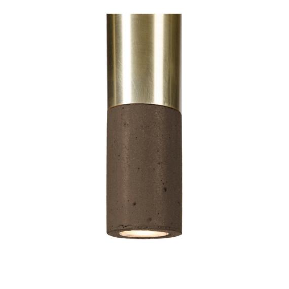 Lampa betonowa Kalla 33 Brass Lampy do przedpokoju lampa betonowa