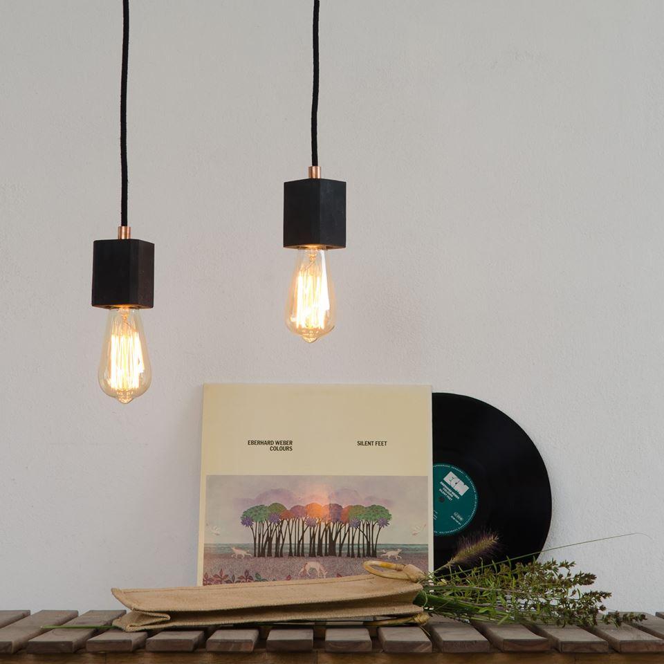 lampa betonowa kalla quadro