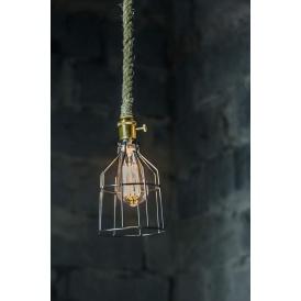 industrialna lampa na linie jutowej