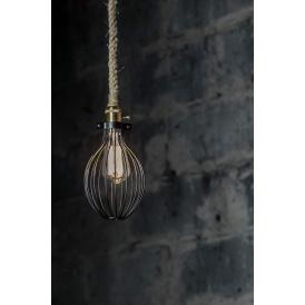 lampa wisząca na sznurze