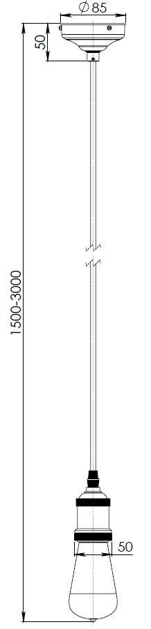 lampa na sznurku