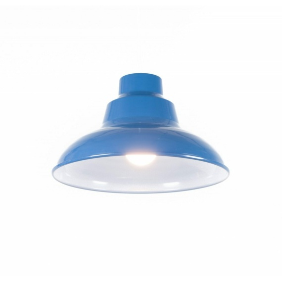 turkusowa lampa sufitowa