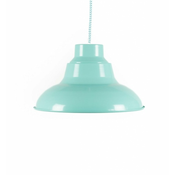 miętowa lampa sufitowa