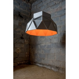 lampa w stylu industrialnym Ufo