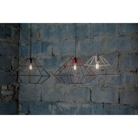 lampa druciana loftowa