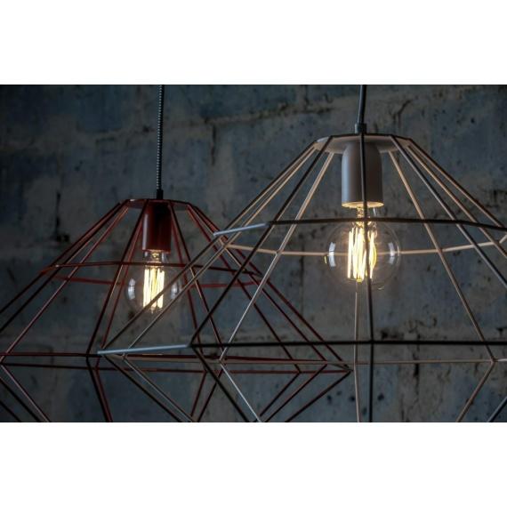 Lampa wisząca Wire Lamp Wiszące | Żyrandole Industrialna lampa druciana