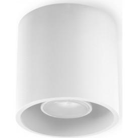 okrągła lampa sufitowa plafon