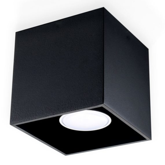 downlight plafon czarny