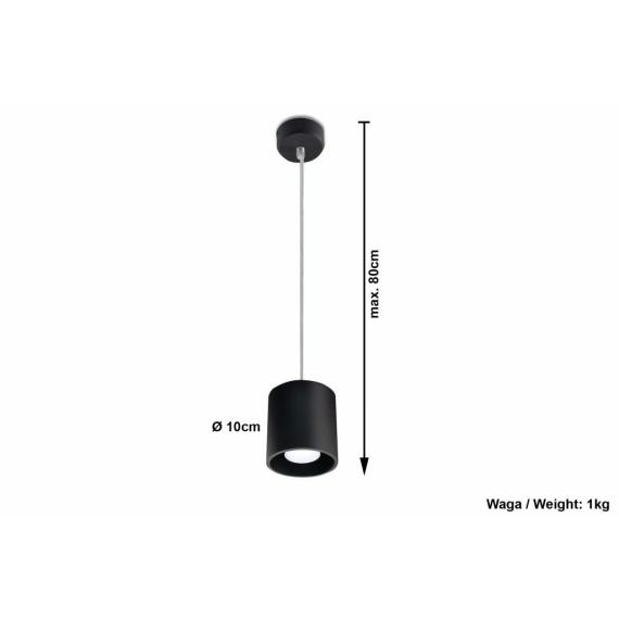 Lampa wisząca Orbis 1 Wiszące | Żyrandole nowoczesna lampa do salonu
