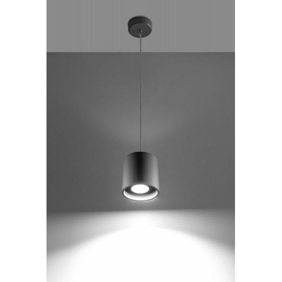Nowoczesna lampa Orbis 1 szara
