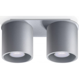 szara lampa sufitowa plafon02