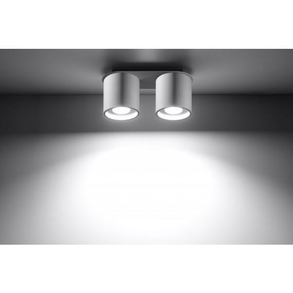 biała lampa sufitowa plafon02