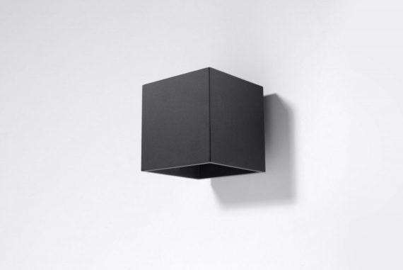 kwadratowa lampa ścienna 02
