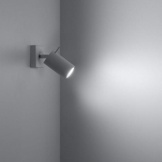 stalowy kinkiet na ścianę 04