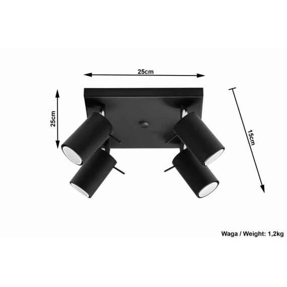 designerska lampa sufitowa Ring04