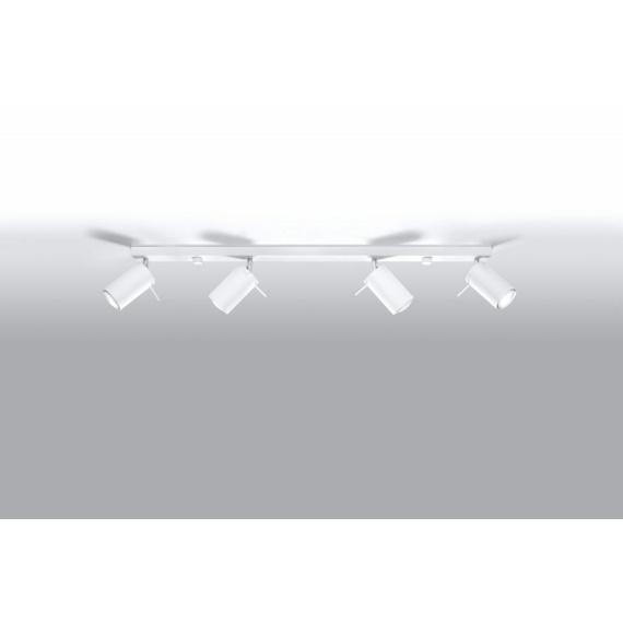stalowa lampa sufitowa spot 02