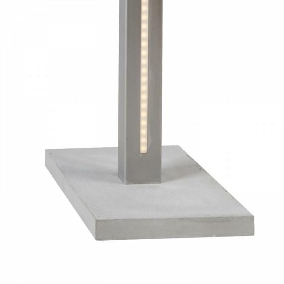 stojąca lampa betonowa 05