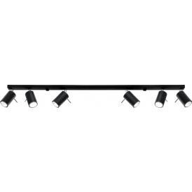 Nowoczesny plafon Ring 6 L wielopunktowy