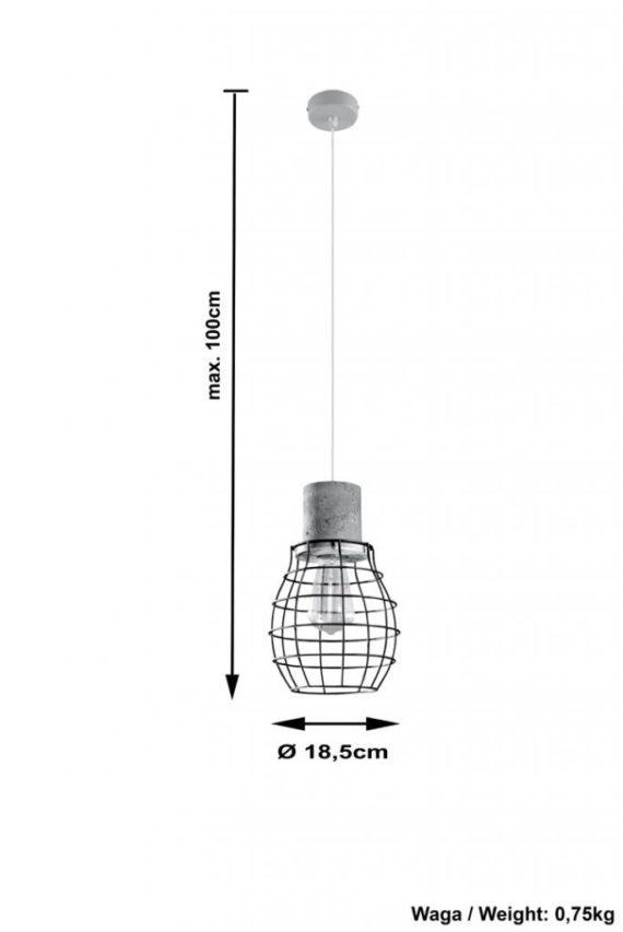 lampa betonowa Lugo 03