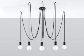 lampa wisząca loftowa pająk