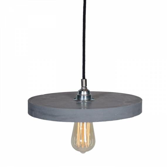 Lampa betonowa Primitivo Lampy do salonu lampa betonowa