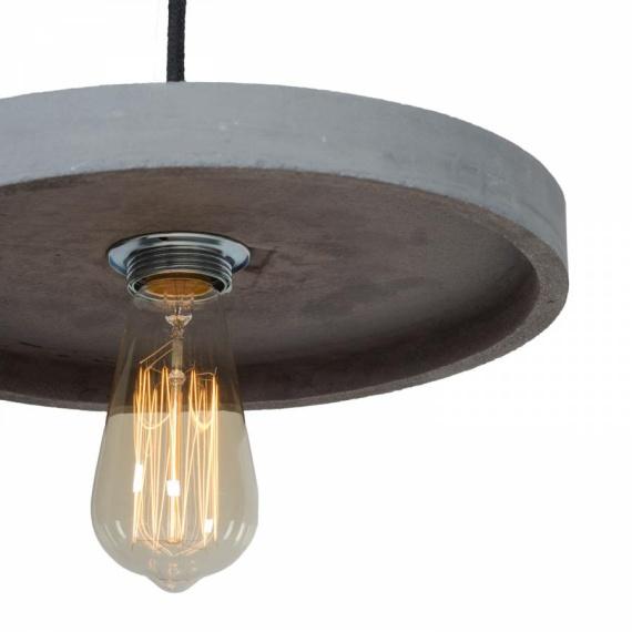 betonowa lampa wisząca Primitivo 003