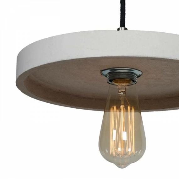 betonowa lampa wisząca Primitivo 01