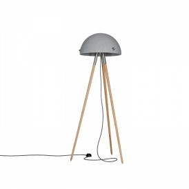 podłogowa lampa betonowa