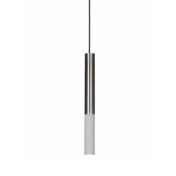 Lampa betonowa Kalla 53 Inox Lampy do salonu lampa betonowa
