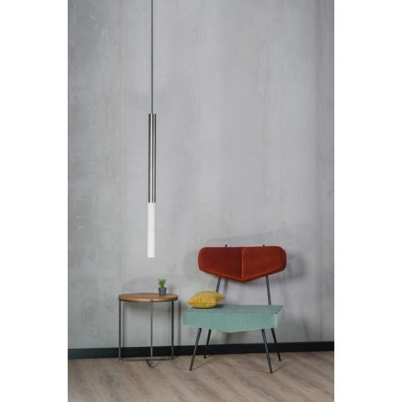 Lampa betonowa Kalla 97 Inox Lampy do salonu lampa betonowa