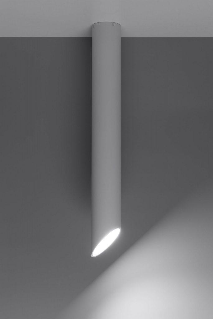 nowoczesny plafon tuba jak rurka penne07