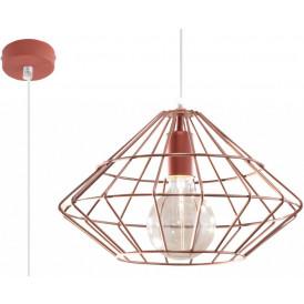 industrialna lampa z drutu