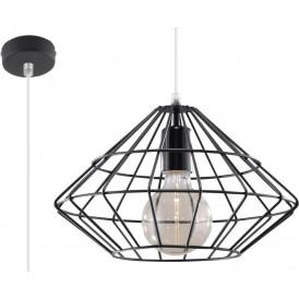 designerks lampa druciana w stylu industrialnym
