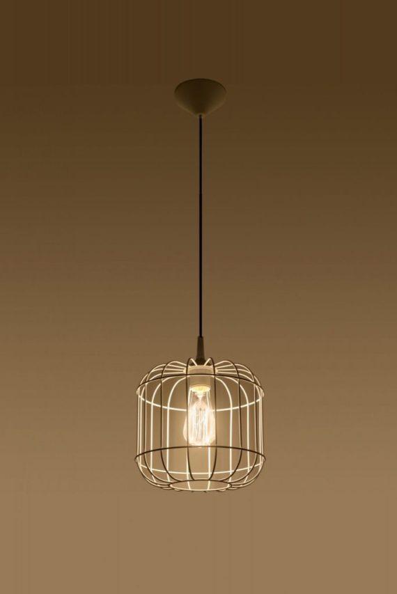 lampa metalowa w stylu skandynawskim Celta 02