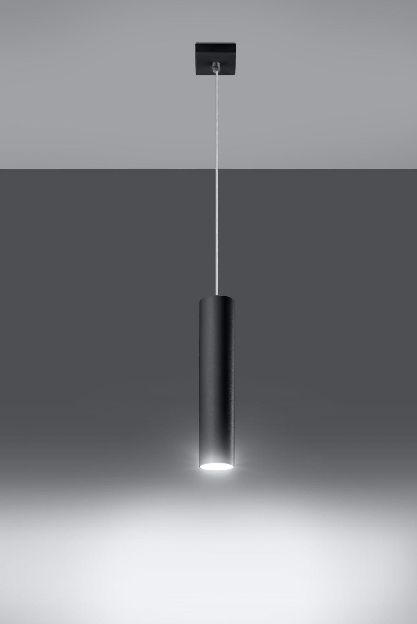lampa wisząca zwis Lagos 1 czarny 02